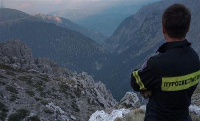Θρίλερ με δύο τραυματισμένους ορειβάτες στον Όλυμπο - Επιχείρηση διάσωσης με ελικόπτερο