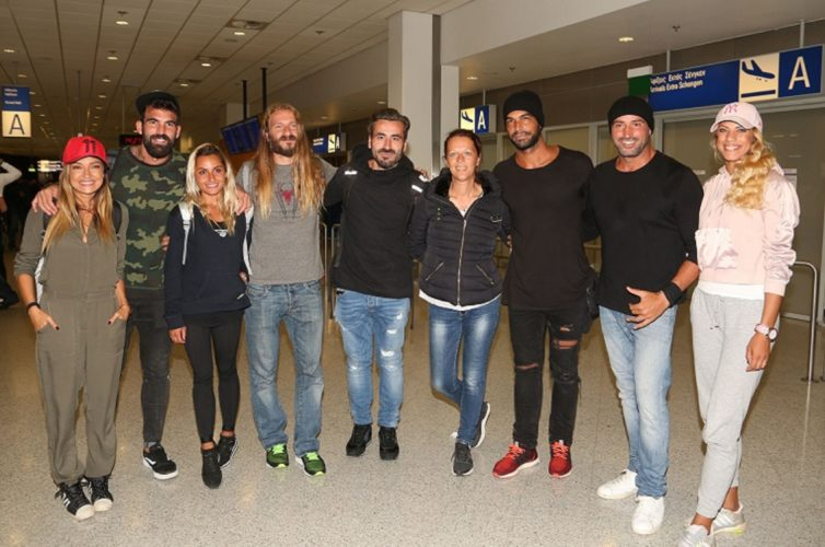 Επέστρεψαν στην Ελλάδα οι παίκτες του Nomads (φωτογραφίες)