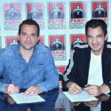 O Δήμος Αναστασιάδης στην Panik Records