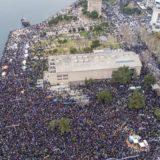 Συγκλονιστικές αεροφωτογραφίες από το συλλαλητήριο στη Θεσσαλονίκη για τη Μακεδονία