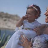 Η κόρη της Καλομοίρας έγινε τριών ετών! Δείτε την εντυπωσιακή τούρτα