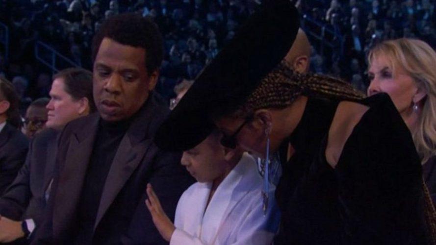Grammy 2018: Η κίνηση της κόρης του Jay Z και της Beyonce που έγινε viral