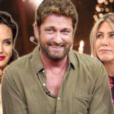 Ο Gerard Butler αποκάλυψε αν φιλάει καλύτερα η Angelina Jolie ή Jennifer Aniston