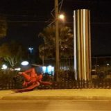 Οι άνεμοι «γκρέμισαν» τον «Κόκκινο Αγγελο» του Παλαιού Φαλήρου;