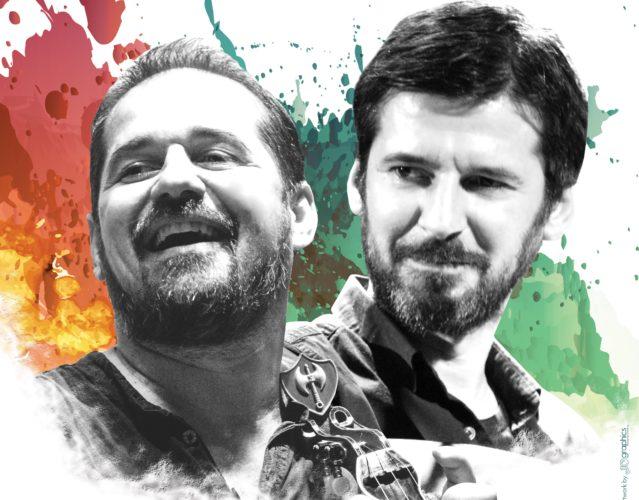 Γιώργος και Νίκος Στρατάκης στο Σταυρό του Νότου