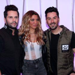 Τσαλίκης-Ηλιάδη-Βασιλάκος: Στα backstage της τζενεράλε τους πριν την πρεμιέρα στο Frangelico