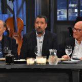 Ο Σπύρος Παπαδόπουλος υποδέχεται τον Γιάννη Σπανό