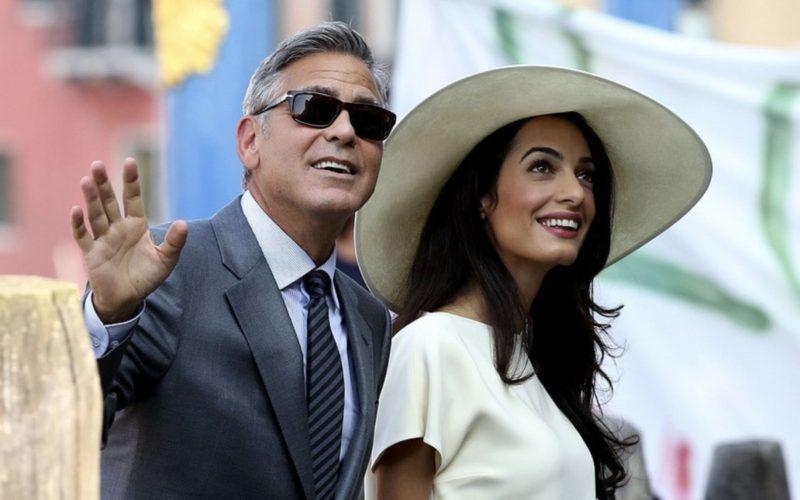 Ο George Clooney αποκαλύπτει πως γνωρίστηκε με την Amal Alamuddin