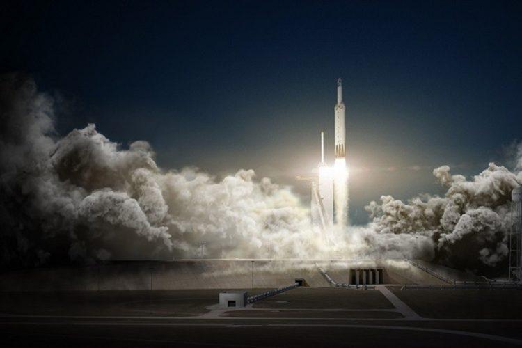 Εκτοξεύτηκε ο ισχυρότερος πύραυλος στον κόσμο από την SpaceX