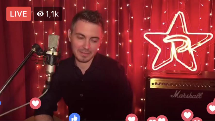 Ο Ρυθμός 949 πραγματοποίησε το 1ο FB live της χρονιάς με καλεσμένο τον Μ.Χατζηγιάννη!