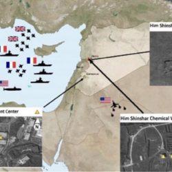 Φωτογραφίες και βίντεο από τις καταστροφές στις εγκαταστάσεις στη Συρία