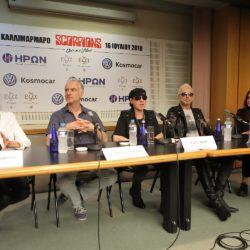 Οι Scorpions ήρθαν στην Αθήνα δύο μήνες πριν τη μεγάλη συναυλία στο Καλλιμάρμαρο