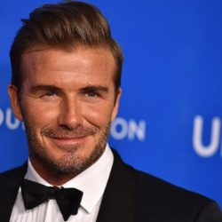 Δείτε την φωτογραφία του David Beckham με τη μητέρα του