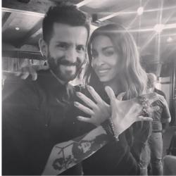 O Αλβανός εκπρόσωπος της Eurovision μιλάει για την φωτογραφία με την Ελένη Φουρέιρα
