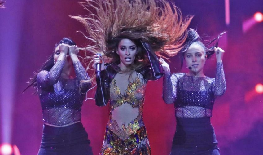 Δείτε τη δεύτερη πρόβα της Ελένης Φουρέιρα στη σκηνή της Eurovision