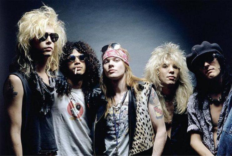 Η Universal Music γιορτάζει τους Guns N' Roses, με την επανακυκλοφορία του Appetite For Destruction