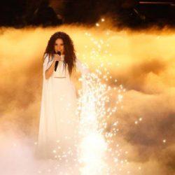 Εντυπωσιακή η Γιάννα Τερζή στον α ημιτελικό της Eurovision 2018