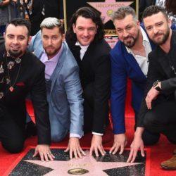 Οι NSYNC απέκτησαν το δικό τους αστέρι στη Walk of Fame