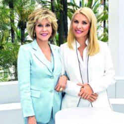 Δείτε την συνέντευξη της Ελένης Μενεγάκη με την Jane Fonda και όσα είπε η παρουσιάστρια για την συνάντηση τους