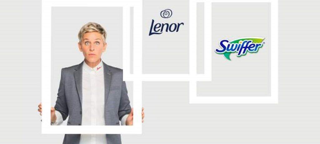 Το Swiffer και το Lenor, χορηγοί μετάδοσης του «The Ellen DeGeneres Show» στο Novalifε