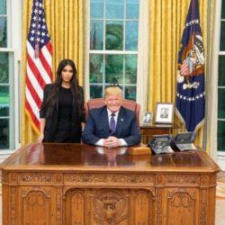 Η Kim Kardashian συνάντησε τον Donald Trump στο Λευκό Οίκο
