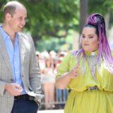 Ο Πρίγκιπας William συναντήθηκε με τη Netta στο Tel Aviv
