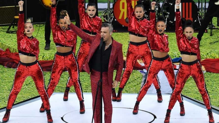 Με Robbie Williams η τελετή έναρξης του Μουντιάλ 2018