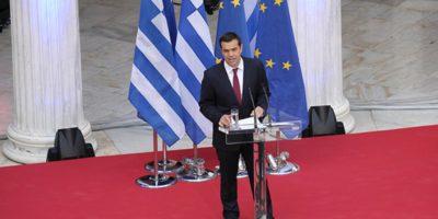 Τσίπρας: Να γίνουν αισθητά και στην κοινωνία τα οφέλη της συμφωνίας