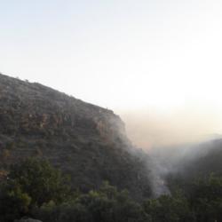 Σε ύφεση η φωτιά στο Κακόπετρο Χανίων
