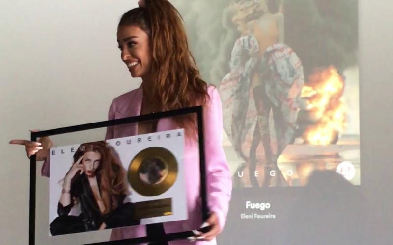 Ελένη Φουρέιρα: Χρυσό στην Ισπανία το «Fuego»