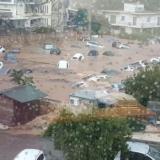 Πλημμύρες στην Αττική: «Βυθίστηκαν» αυτοκίνητα στο Μαρούσι – Επιχειρήσεις απεγκλωβισμού