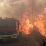 Μεγάλη πυρκαγιά στην περιοχή μεταξύ Πεντέλης και Νέου Βουτζά