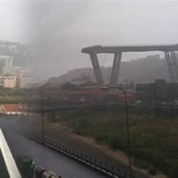 Τραγωδία στην Γένοβα από την κατάρρευση γέφυρας