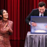 Φρίκαρε η Kim Kardashian με αυτό που την έβαλε να κάνει ο Jimmy Fallon