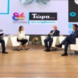 Η εκπομπή Tώρα Ό,τι Συμβαίνει με τη Φαίη Μαυραγάνη έκανε πρεμιέρα ζωντανά μέσα από την 84η ΔΕΘ