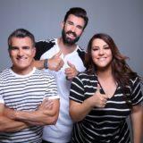 Η Κατερίνα Ζαρίφη και ο Παύλος Σταματόπουλος αποχαιρέτησαν τον Ηλία Γκότση και υποδέχθηκαν το νέο μέλος στην εκπομπή