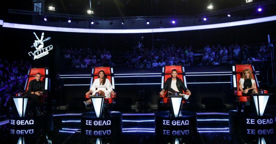 H τηλεθέαση χτύπησε κόκκινο στην πρεμιέρα του The Voice