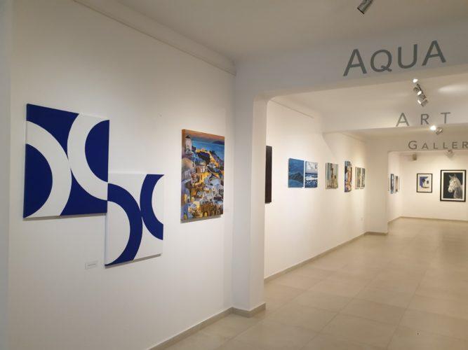 Μια ακόμα εικαστική έκθεση στη Σαντορίνη για την Aqua Vista Hotels