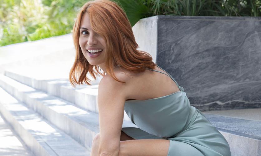 Η Μαρία Ηλιάκη αποκάλυψε τι λιγουρεύτηκε να φάει στην εγκυμοσύνη της