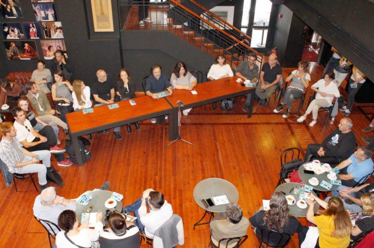 Η 5η Εποχή στο θέατρο ΑΛΜΑ - Συνέντευξη τύπου