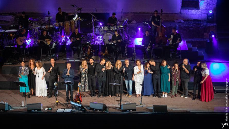 Η συναυλία που έγινε γιορτή: Τα μουσικά γενέθλια του Γιώργου Νταλάρα στο Ηρώδειο