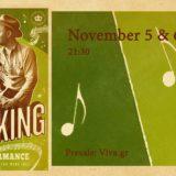 Ο C. W. Stoneking επιστρέφει στο Tiki Bar Athens