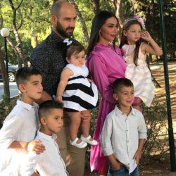 Οι δημόσιες ευχές του Βασίλη Σπανούλη και της Ολυμπίας Χοψονίδου για τον μεγάλο τους γιος που έχει γενέθλια