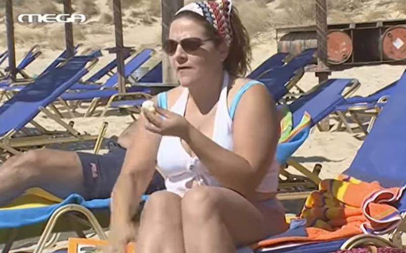 Είσαι το ταίρι μου: Δεν φαντάζεστε πόσα αυγά έφαγε η Βίκυ Σταυροπούλου στη σκηνή της παραλίας