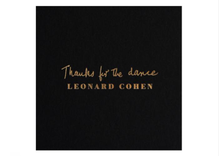 Μόλις κυκλοφόρησε το νέο album του Leonard Cohen, Thanks for the Dance!
