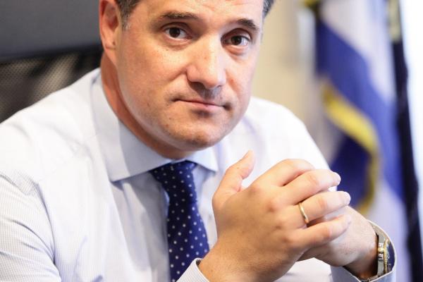 Ο Άδωνις Γεωργιάδης την Κυριακή στο «Τώρα Ό,τι Συμβαίνει» με τη Φαίη Μαυραγάνη