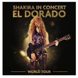 H Shakira ανακοινώνει την κυκλοφορία του Shakira In Concert: El Dorado World Tour live album