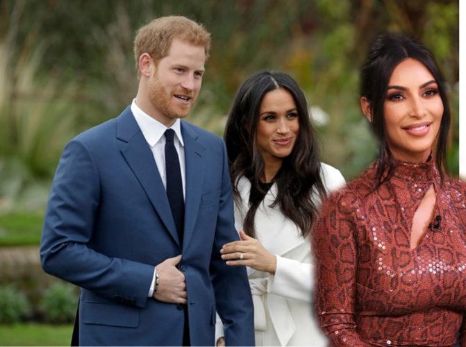«Όλοι δικαιούμαστε ιδιωτικές στιγμές»: Η Kim Kardashian στο πλευρό του Πρίγκιπα Harry και της Meghan Markle