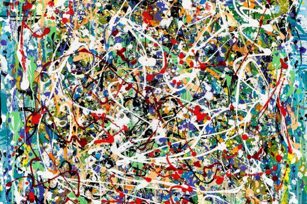 «Εξπρεσιονισμός της δράσης» και της επιτυχίας για την ατομική έκθεση της εικαστικού Κατερίνας Πολυζωίδη – Μαυρολέων κατά τη διάρκεια της ART THESSALONIKI