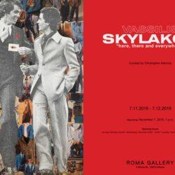 Νέα έκθεση στη Roma Gallery - Βασίλης Σκυλάκος «Εδώ κι εκεί και παντού»